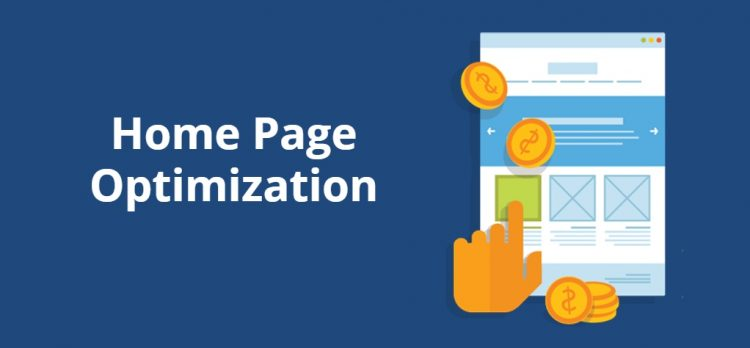 Home Page Optimization