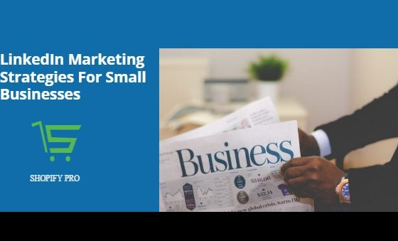 LinkedIn Marketing Strategies For Small Businesses