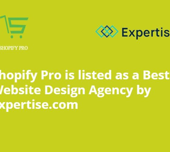 Shopify Pro listed by Expertise.com