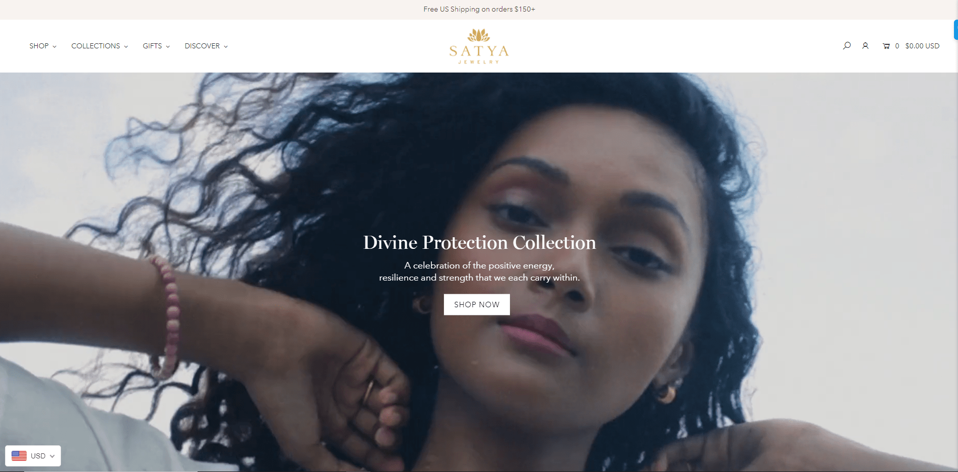 SATYA portfolio website