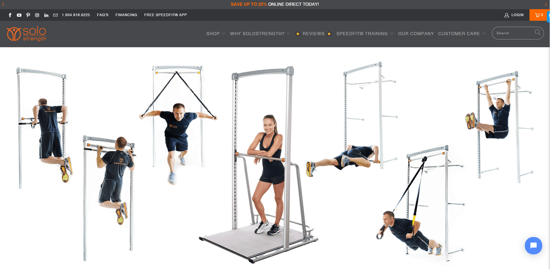 solostrength.com portfolio website